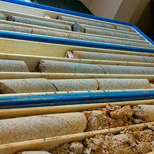 Sondagem Rotativa para Perfuração de Rochas